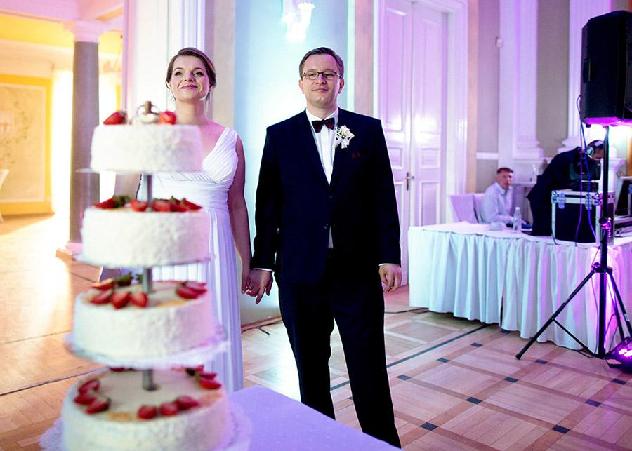 Dagmara and Rafał's wedding cake Centralna Biblioteka Rolnicza, Warsaw