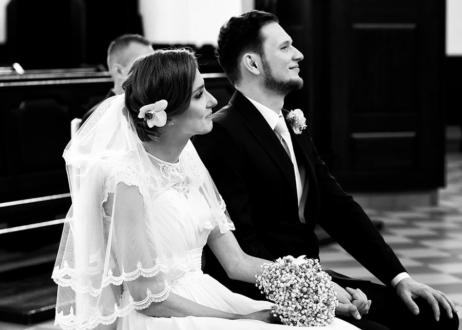 Ślub kościelny Marty i Łukasza Ostrów Mazowiecka